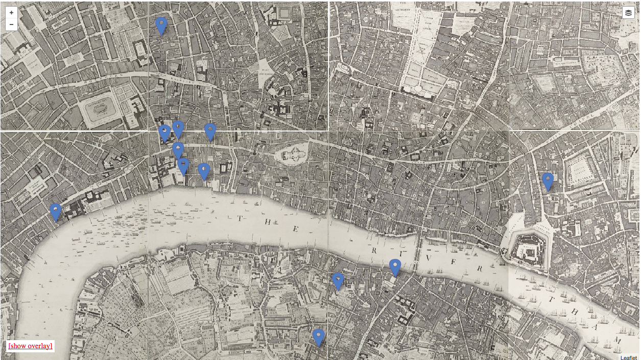 Debtors Sanctuaries in London, circa 1673 to 1723